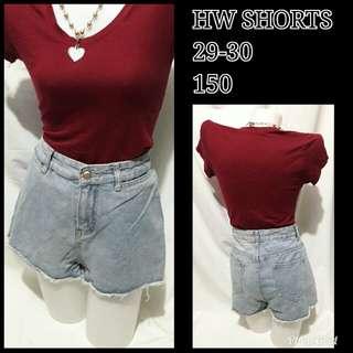 Highwaist shorts