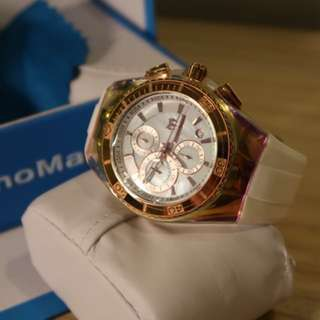 Technomarine Cruise Rose Gold and White