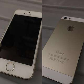 iPhone 5S Gold 32G with Box