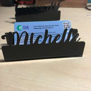 NameCard Holder (Ur Own Name)