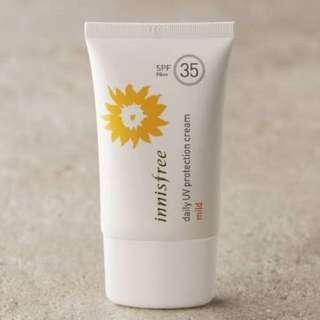 Innisfree Sunscreen SPF 35