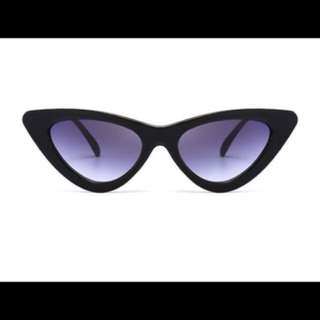 Small Cat Eyed Sunglasses