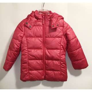 New! Esprit 4-5 years-old padded jacket 童裝棉褸 👧🏻❤️
