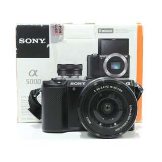 Sony A5000 kit 16-50mm f3.5-5.6 OSS (Black)