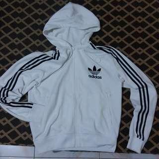 Adidas hoodie zipperfront jacket