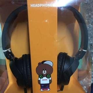 ✨熊大頭戴式耳機