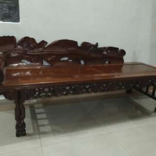 Antique rose wood  sleeping chair  WhatsApp me +601151849007
