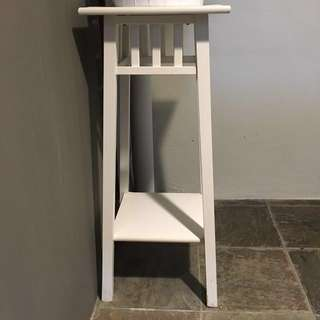 Ikea Plant stand and holder and pot - used