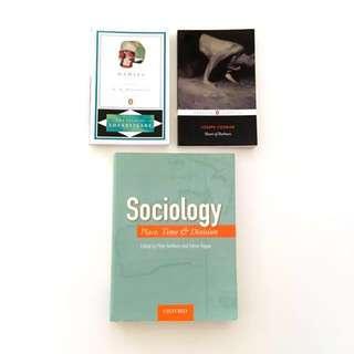 University NEW Penguin Classics (Sociology Novels / Textbook) - Shakespeare, Nietzsche