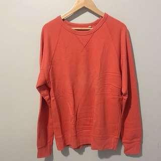 Uniqlo Orange Sweater