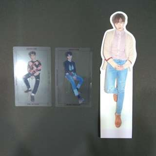Wanna One Nothing Without You Bae Jinyoung, Hwang Minhyun, Ha Sungwoon Photocards and Standee