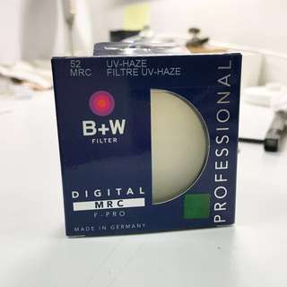 🚚 單眼相機鏡頭52mm保護鏡 B+W 德國製