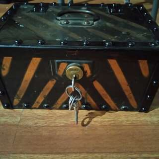 Metal Secure Box with unique keys