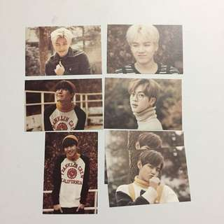 BTS Pfficial 2nd Muster 22920 Photocards