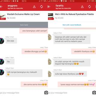 Testimoni💯 Thankyou for shopping❤