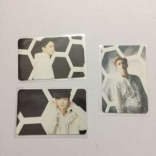 EXO Official Coming Over Photocard