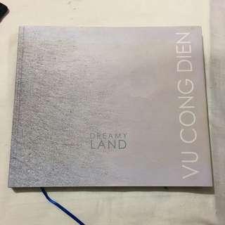 Dreamy Land art book by Vu Cong Dien. Autographed.