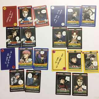 EXO SUM Official Power Solution Cards
