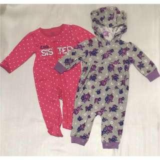 New! Carter's 3-6 months 2-pieces set 小童套裝 size 3-6 months 👶🏻👦🏻👧🏻