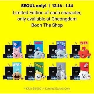 BTS BT21 Loose Merchandise
