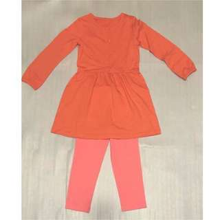New! Carter's 2-3 years old 2-pieces set 小童套裝 size 3T (2-3 years old) 👧🏻👶🏻