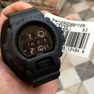 G-SHOCK DW6900 MATTE BLACK
