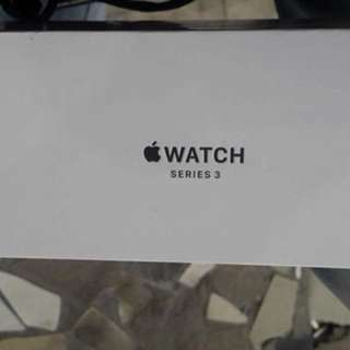 Apple watch sport series 3 42mm black