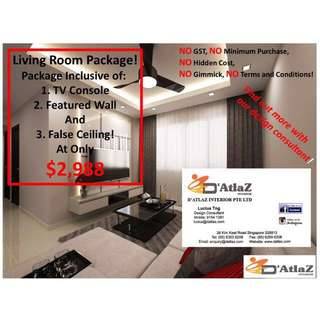 Living Room Promotion Package!