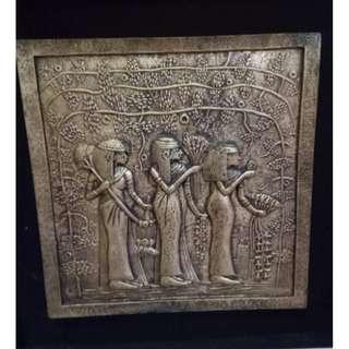 仿古埃及銅畫