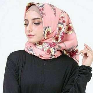 Hijab Maxmara Mulberry Adinda