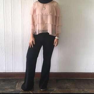 Zara ruffles top