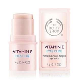 BN The Body Shop Vitamin E Eyes Cube