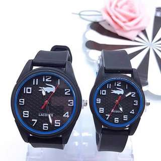 **FREE SHIPPING** Lacoste couple watch
