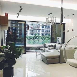 Just TOP,Modern design condo, near Pasir Ris MRT,bus interchange