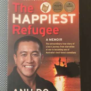The happiest refugee by anh do