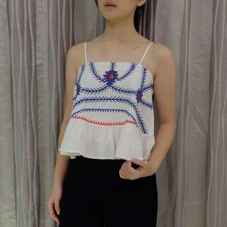 MDS WHITE FLOWER TOP