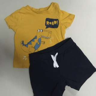 Mothercare TShirt & Pants Set