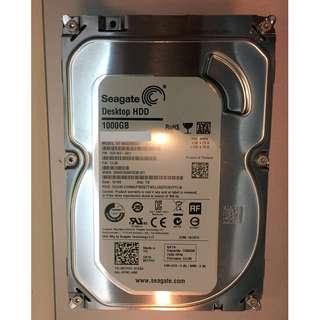 Seagate desktop hard disk HDD 7200RPM 1000GB