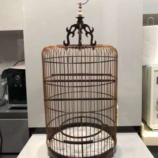 Rosewood Finch Cage