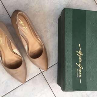 High heels Apple Green