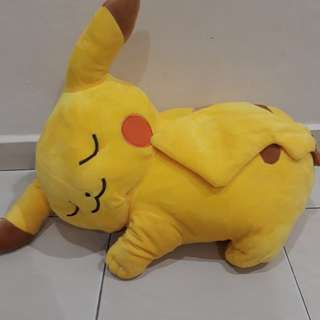 Pikachu 3in1 soft toys,pillow,blanket