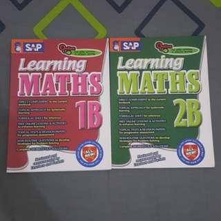 SAP Learning Maths 1B & 2B