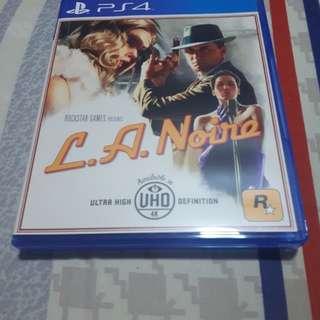 LA NOIRE PS4 GAME
