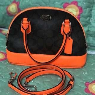 Coach Mini cora domed satchel