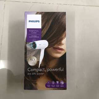 Phillips Essential Care  Foldable Travel Hairdryer BHD006