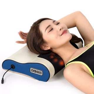 16 Heads Rotating Massage Pillow for Neck, Shoulder, Back and Leg Massager