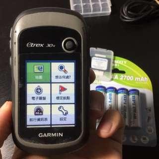 Garmin eTrex 30x 登山/健行用導航機