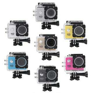 Full HD 1080 waterproof action camera