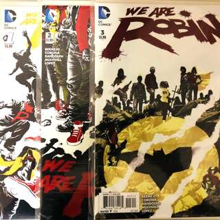We are Robin #1-3