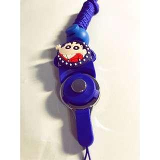 現貨 買2送調節扣 蠟筆小新 造型多功能可拆卸時尚掛繩